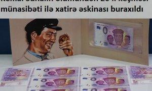 """""""Şaban""""ın xatirəsinə avro buraxıldı - Fotolar"""