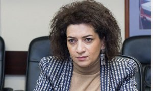 Anna Akopyan ABŞ-a üz tutdu - VİDEO