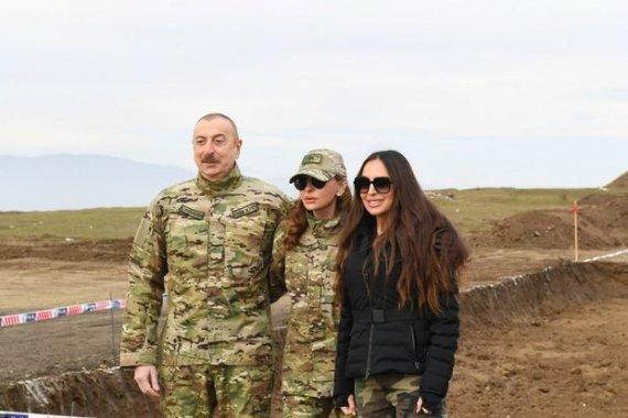 İlham Əliyev və Mehriban Əliyeva işğaldan azad olunan ərazilərdə - CANLI YAYIM